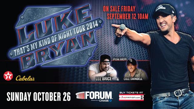 luke bryan tour 2014