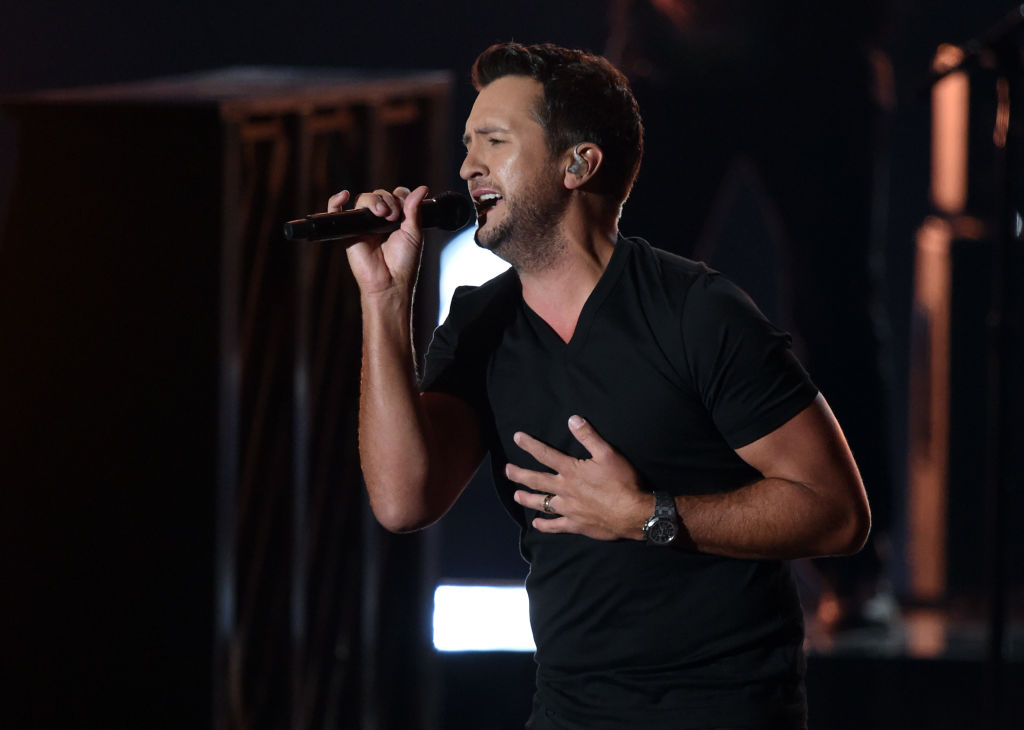 Go Country 105 - Luke Bryan Performs New Song 'Like You Say You Do'