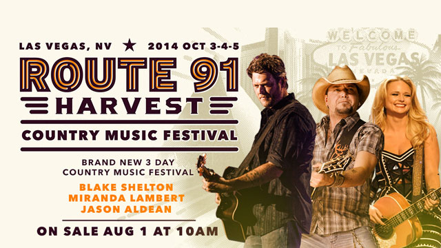 Go Country 105 Route 91 Harvest Country Music Festival