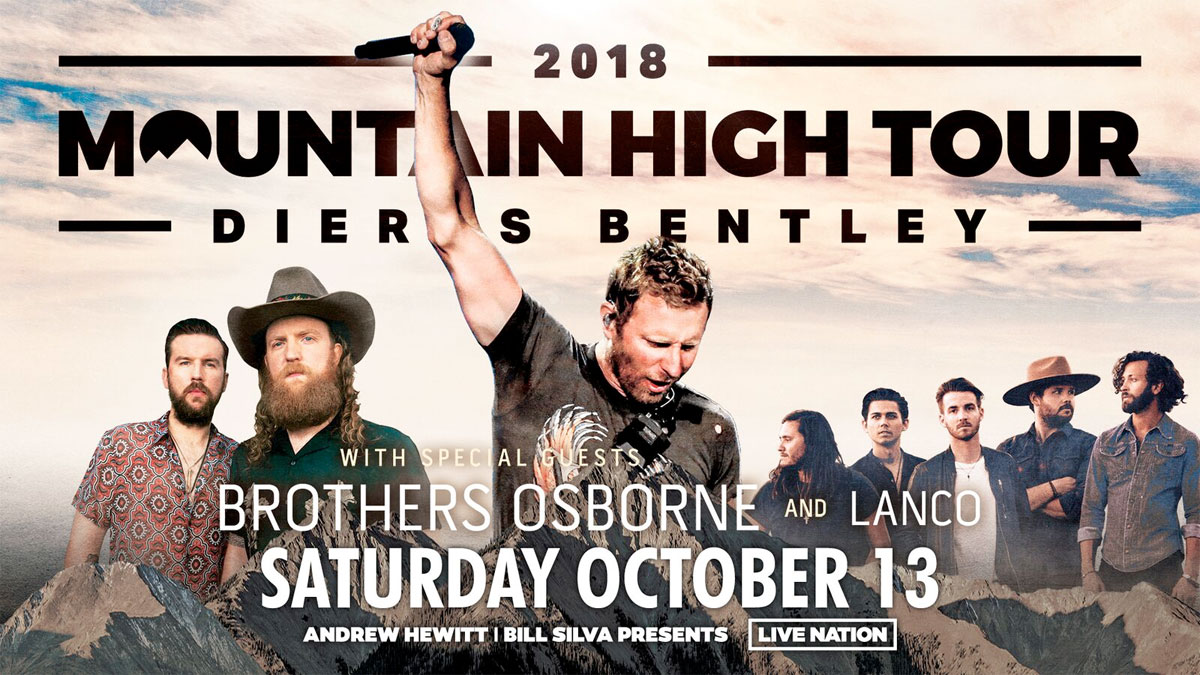 go country 105 - win tickets to see dierks bentley