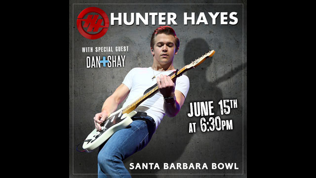 Go Country 105 - Win tickets to see Hunter Hayes