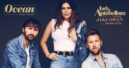 Lady Antebellum push back first dates of their 2020 Ocean Tour