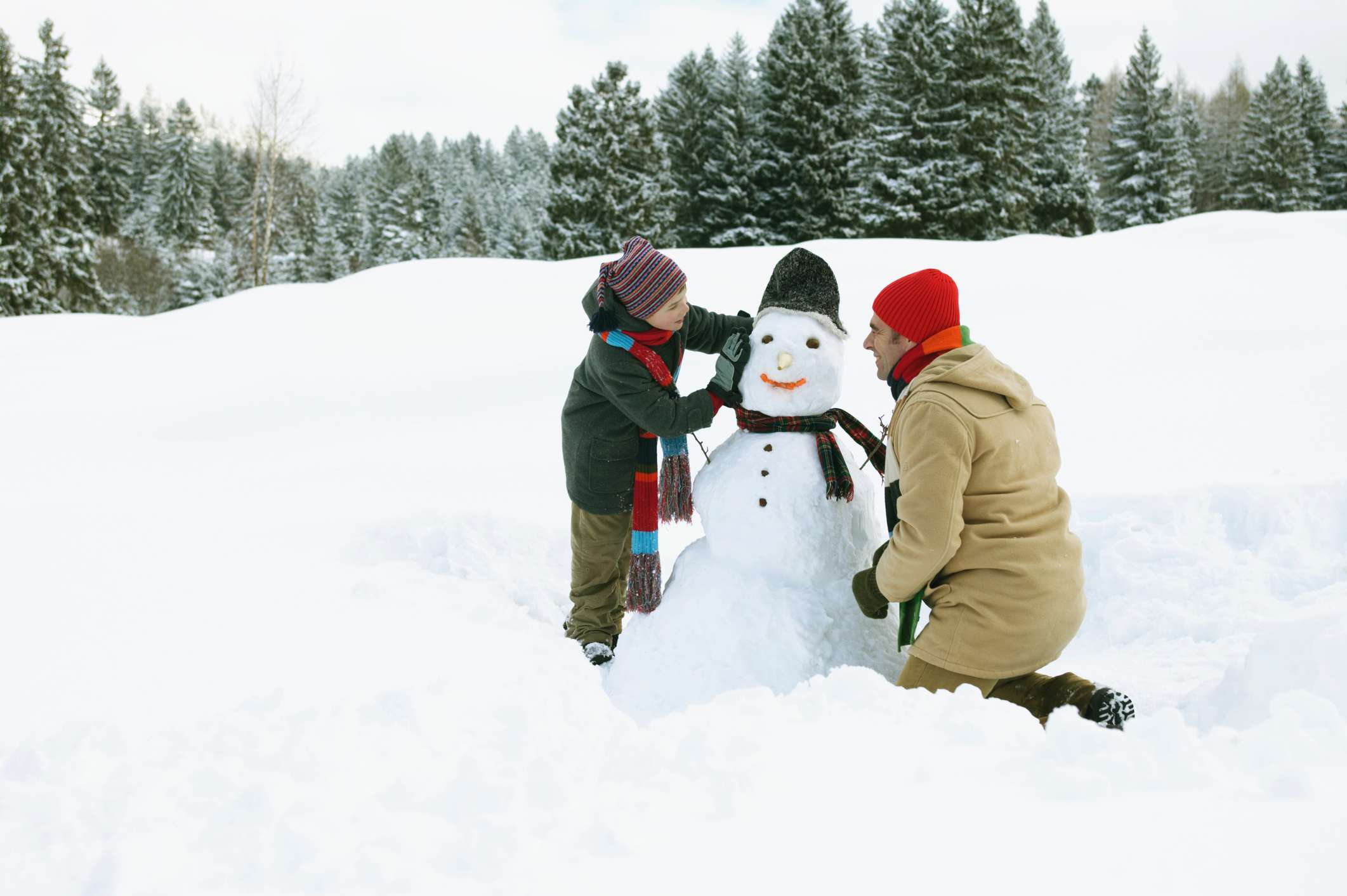 Go Country 105 - Where To Get In The Christmas Spirit In The Snow in ...