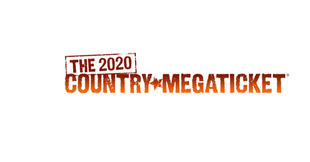 Win the 2020 Country Megaticket