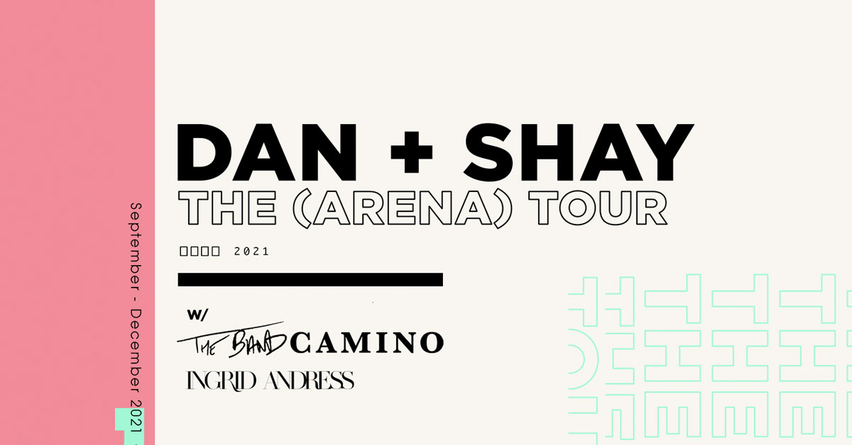 Win tickets to see Dan + Shay
