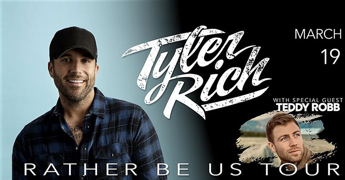 Win tickets to see Tyler Rich